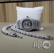 Patek Phillipe Watch, Hand Chain & Ring With Downsec- Silver | Watches for sale in Lagos State, Ikeja