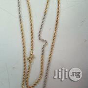 Original ITALY 750 Pure 18karat Gold Twisted Design | Jewelry for sale in Lagos State, Lagos Island