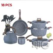 VAKEN GERMANY 18 Pieces Granite Non-Stick Induction Bottom Cookware Set   Kitchen & Dining for sale in Lagos State, Ikeja