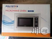 Quality Polystar Inbuilt Microwave Oven Pv-D25l | Kitchen Appliances for sale in Lagos State, Ojo