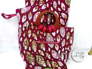 Quality Ankara Bag With 6yrds Wax And Purse On A Discount Price As A Bulk Buyer Ii | Bags for sale in Imo State, Owerri