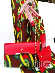 Quality Ankara Bag With 6yrds Wax And Purse On A Discount Price As A Bulk Buyer Vii | Bags for sale in Jigawa State, Dutse-Jigawa