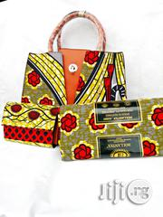 Quality Ankara Bag With 6yrds Wax And Purse On A Discount Price As A Bulk Buyer Xiii | Bags for sale in Kaduna State, Kaduna