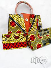 Quality Ankara Bag With 6yrds Wax And Purse On A Discount Price As A Bulk Buyer Xiv | Bags for sale in Kaduna State, Kaduna