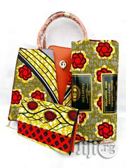 Quality Ankara Bag With 6yrds Wax And Purse On A Discount Price As A Bulk Buyer Xv | Bags for sale in Kaduna State, Kaduna