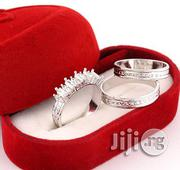 Classic Sterling Silver Wedding Ring Set | Jewelry for sale in Lagos State, Surulere