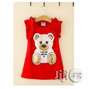 Red Teddy Bear Dress | Children's Clothing for sale in Lagos State, Ikeja