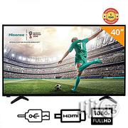 Hisense 40-inch LED TV 40N2176 + Free Wall Bracket (2018 Model) | TV & DVD Equipment for sale in Delta State, Udu