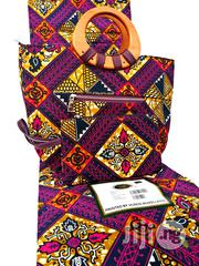 6yrds Wax With Ankara Bag And Purse For Sale   Bags for sale in Abuja (FCT) State, Central Business District