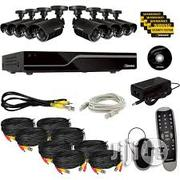 Four Channel Network Cloud DVR Combo Kit With Installation | TV & DVD Equipment for sale in Lagos State, Ikeja