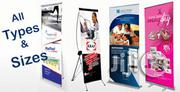 Roll Up Banners And Stand | Photography & Video Services for sale in Lagos State, Shomolu