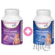 Fertility Support For Men And Women From Conceive PLUS 60 Tabs Each | Vitamins & Supplements for sale in Lagos State, Surulere