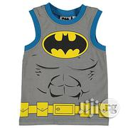 Batman Character Boys Vest - 9-10yrs | Children's Clothing for sale in Lagos State, Shomolu