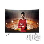 """TCL 55"""" 4K UHD Smart Curved TV With Bluetooth 
