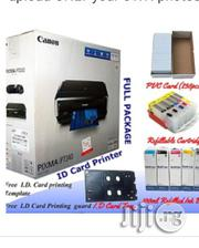 Canon ID Card Pixma IP7240 Printer + Tray + PVC ID Card + Refills | Printers & Scanners for sale in Lagos State, Ikeja