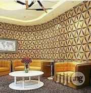 Generic 3D Diamond Wallpaper - Gold | Home Accessories for sale in Abuja (FCT) State, Garki II