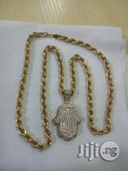 Pure ITALY 750 Tested 18krt Twist With Pendant | Jewelry for sale in Lagos State, Lagos Mainland