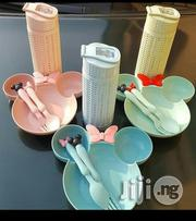 Mickey Mouse Serving Plate,Spoon , Fork And Bottle | Babies & Kids Accessories for sale in Lagos State, Agboyi/Ketu