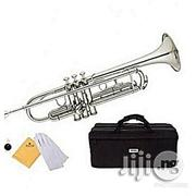 Yamaha Silver Trumpet With Accessaries | Musical Instruments & Gear for sale in Lagos State, Ojo