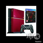 Playstation Ps4 500gb Console+ Metal Gear Solid V The Phantom Pain Limited Edition | Video Game Consoles for sale in Lagos State, Agege