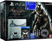 Playstation Ps4 500gb Steel Grey Console+ Batman Arkham Knight Limited Edition | Video Game Consoles for sale in Abuja (FCT) State, Wuse
