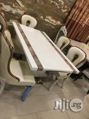 High Quality Marble Dining Table With 6 Royal Chairs | Furniture for sale in Lagos State, Lekki Phase 1