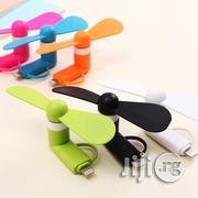 Portable 2 In 1 Phone Mini Fan | Accessories for Mobile Phones & Tablets for sale in Lagos State, Lagos Mainland