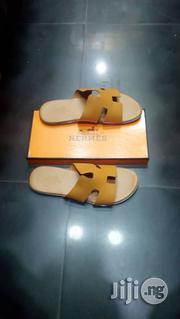 Hermes Men's Leather Slippers | Shoes for sale in Lagos State, Lagos Island