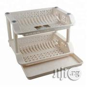 Plastic Plate Rack With Drip Tray | Kitchen & Dining for sale in Lagos State, Lagos Island