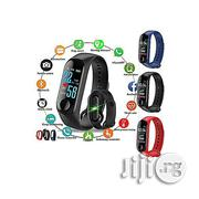 M3 Smart Bracelet Color Screen Blood Pressure Watch | Smart Watches & Trackers for sale in Lagos State, Lagos Mainland