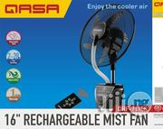 """Qasa 16"""" Rechargeable Mist Fan 