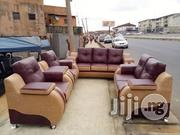 Complete Set of Quality Leather Sofa at Chibest Joy Senior Ltd | Furniture for sale in Lagos State, Ikeja