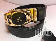 Original Ck Leather Belt | Clothing Accessories for sale in Lagos State, Lagos Island