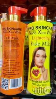 Nano Xtra White Lightening Fade Milk -400ml | Skin Care for sale in Lagos State, Lagos Mainland
