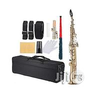 Premier Premier Straight Soprano Saxophone (With Complete Accessories) | Musical Instruments & Gear for sale in Lagos State, Amuwo-Odofin