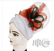 Fashionable Cap With Fascinator   Clothing Accessories for sale in Lagos State, Lagos Mainland