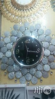 Silver Stone Clock | Home Accessories for sale in Lagos State, Victoria Island