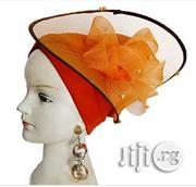 Turban Cap With Fascinator   Clothing Accessories for sale in Lagos State, Lagos Mainland
