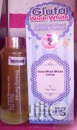 Gluta Wink White Lotion + Beauty Series Serum | Skin Care for sale in Ikotun/Igando, Lagos State, Nigeria