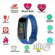 Generic Smart Watch Bracelet Fitness Tracker Sports BP - Black | Smart Watches & Trackers for sale in Lagos State, Ikeja
