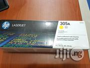HP 305A Yellow Toner Cartridge   Computer Accessories  for sale in Lagos State, Ikeja