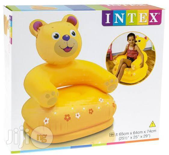 Inflatable Children Catoon Character Chair