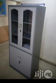 Brand New Book Shelf With Tempered Glass Drawers,10% Off | Furniture for sale in Lagos State, Maryland