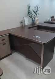 Quality, Executive Office Table With Extension and Mobel Drawer, Special Design | Furniture for sale in Lagos State, Ajah