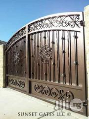 Iron Gate .Wrought Iron Gates To Be Done On Site | Doors for sale in Lagos State, Lekki Phase 1