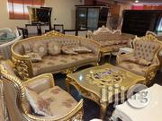 Royal Gold 7-Seat Sofa | Furniture for sale in Lagos State, Ojo