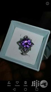 Purple Gem Stone Engagement Ring Silver | Jewelry for sale in Lagos State, Maryland