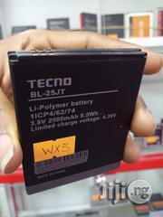 Original Tecno WX3 Battery BL-25JT | Accessories for Mobile Phones & Tablets for sale in Lagos State, Ikeja