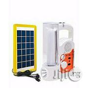Lontor Rechargeable Lamp & Radio With USB + Solar Panel | Solar Energy for sale in Lagos State, Lagos Mainland