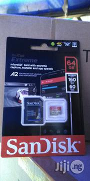 Sandisk Extreme 4kuhd Microsd Card64gb   Computer Accessories  for sale in Lagos State, Ikeja